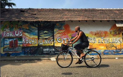 best way to explore kochi is by foot or bicycle
